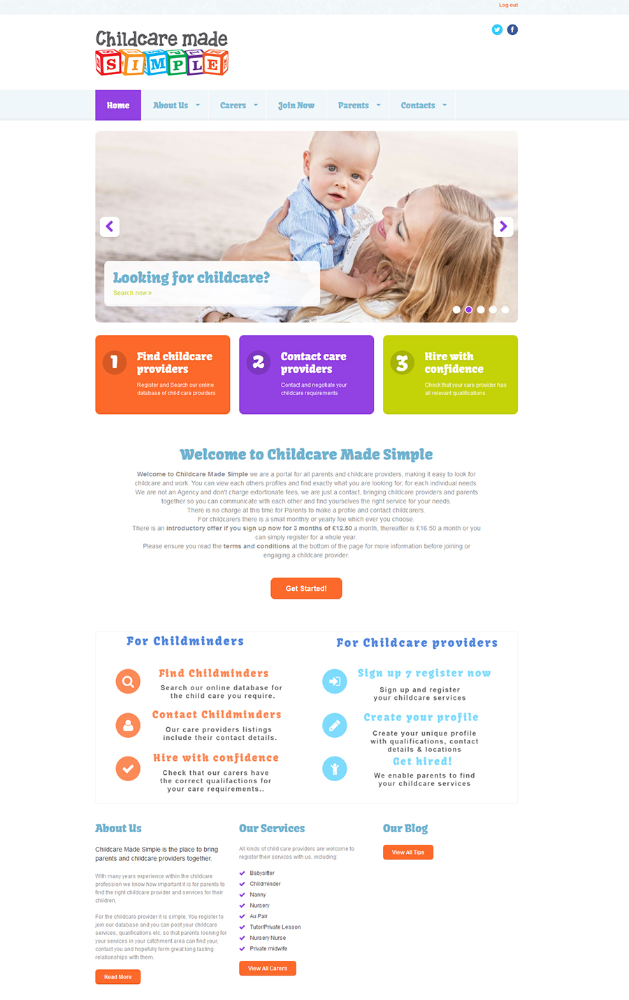 Childcare Made Simple