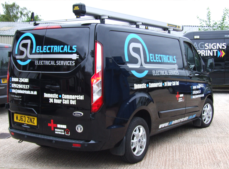 Van graphics Exeter
